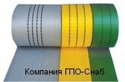 Полиэстеровая лента для строп от ГПО-Снаб в Украине.