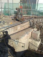 Алмазная резка бетона канатными установками Крым,  Ялта,  Гурзуф.