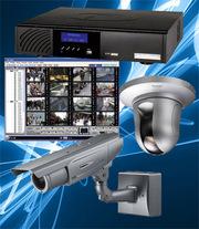 Системы видеонаблюдения,  охраны, оповещения
