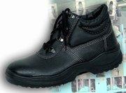 Продам кожанную рабочую обувь.Недорого.Мелким и крупным оптом.