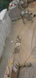 Алмазная резка бетона канатными установками.