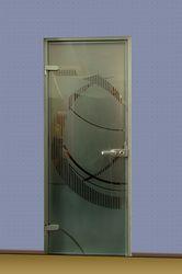 Двери из закалённого стекла,  двери из стекла