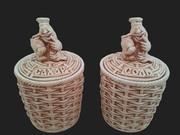 Емкости для специй из керамики!