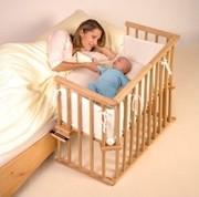 Приставная детская кроватка трансформер 3в1 от производителя