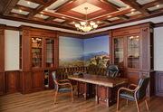 Интерьер из дерева для кабинета