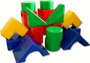 Детская игровая мебель и другие изделия для детских комнат.