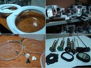 Комплектующие быттехники,  ремонт стиральных автоматов