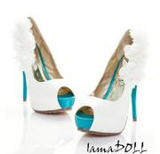 Свадебные/выпускные туфли,  новые 37 размер