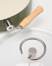 Сковородки с керамическим покрытием и деревянными ручками. Лучш