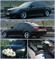 Прокат BMW 5 - прокат авто для торжественных мероприятий и деловых пое
