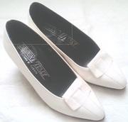 Туфли женские кожаные,  размер 36,  новые,  производство Италия,  белые