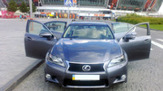 Аренда с водителем Лексус GS 250 (темно графитовый)