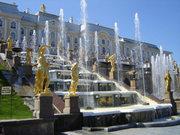 тур питер закрытие фонтанов,  туры петербург из киева недорого