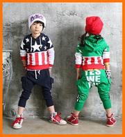 Детские костюмы,  для детей,  украшен принтом