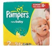 продам памперсы Pampers New Baby Mini 2 (3-6кг.) 94 шт