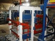 Производство шлакоблока,  автоматический вибропресс.