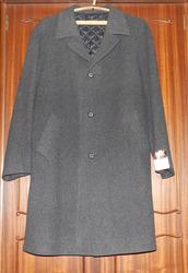 Пальто мужское зимнесезонное ратиновое (шерстяное),  новое