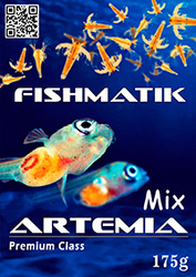 Смесь соли и яиц артемии Fishmatik Premium class 175 г