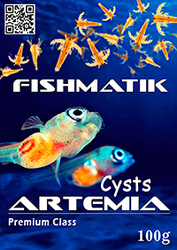 Артемия Fishmatik Premium class 250 г