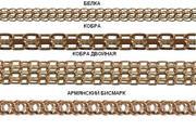 Золотые и серебренные цепи под заказ