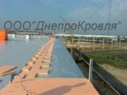 Кровля из ПВХ мембраны в Донецке