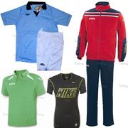 Спортивная одежда,  спортивная обувь,  аксессуары,  мячи