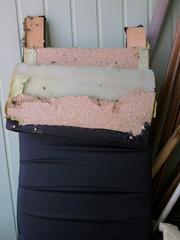 Ремонт мягкой мебели на дому у клиента