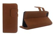 Чехол Soft Feel Leather Brown [Чехлы для iPhone 5/5s]