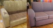 Перетяжка и ремонт мягкой  мебели Макеевка