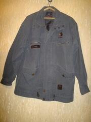 Куртка,  р-р 52-54,  35% хлопок ,  б/у