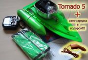 Рыбацкий кораблик для прикормки Tornado-5 авто зарядка