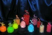 Декоративные свечи в розочках