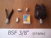 Рыбацкая гайка для Род Пода BSF 3/8 дюйма (для вкручивания сигнализато