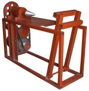 Винтовой электро-механический колун (топор) для заготовки дров