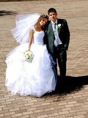 Продам свадебное платье в хорошем состоянии.Мариуполь.