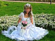 Продаётся шикарное эксклюзивное свадебное платье.