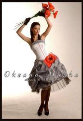Продам оригинальное красивое платье для выпускного