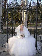 Продам свадебное платье, цвета шампанского