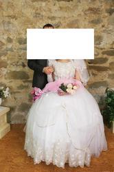 Продам свадебное платье за 500 грн. + подъюпник на 7 колец